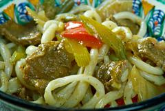 Uigur noodle soup Lagman Stock Photos