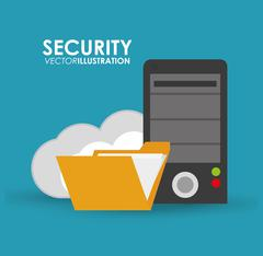 Security system and protection design Stock Illustration