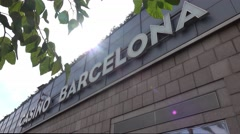 Casino Barcelona at Port Olympic Stock Footage
