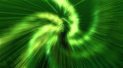 Looping Green Particle Rain Stock Footage