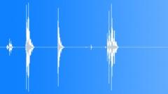 Clearing Away Broken Crockery 4 Sound Effect