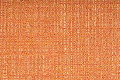 Orange fabric texture background Stock Photos