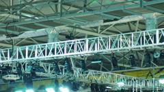 Spotlight System Stock Footage