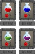 Potion shop Stock Illustration