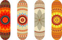 Skateboard designs Piirros