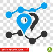 Geo Trends Eps Vector Icon Stock Illustration