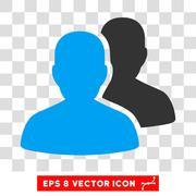 User Accounts Eps Vector Icon Stock Illustration