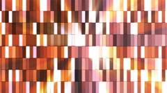 Broadcast Twinkling Hi-Tech Small Bars, Brown, Abstract, Loopable, 4K Stock Footage