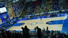 Basketball Game Stock Footage