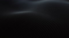 Abstract Surface Wave, 3d Loopable Animation 4k Stock Footage