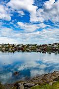 Lofoten archipelago islands Stock Photos