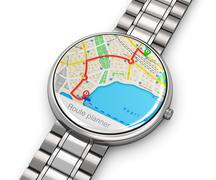 GPS navigation on smartwatch Piirros