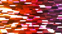 Broadcast Twinkling Diamond Hi-Tech Small Bars, Multi Color, Abstract, Loop, 4K Stock Footage