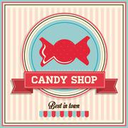 Candy design. sweet icon. dessert concept, vector illustration Stock Illustration