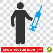 Drug Dealer Eps Vector Icon Stock Illustration