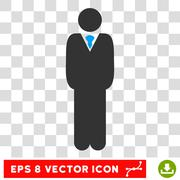 Manager Eps Vector Icon Stock Illustration