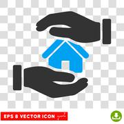 Realty Insurance Eps Vector Icon Stock Illustration