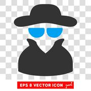 Spy Eps Vector Icon Stock Illustration