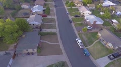 Clips of sunset time in a suburb of Denver Stock Footage