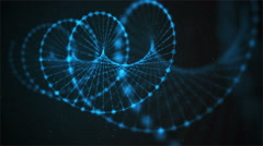 Creative loopable animation of DNA UHD with alpha Stock Footage