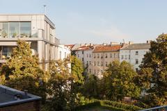 New apartments in Berlin Prenzlauer Berg Stock Photos