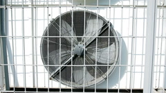 Rotating blades of conditioner Stock Footage