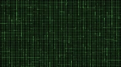 Vj Loops Green Stripes HD Visual Stock Footage