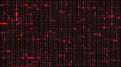 Vj Loops Red Flashing Stripes Animation Background HD Visual Stock Footage