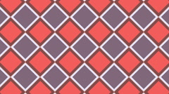 Abstract multiple color rhombus shape graphics background animation, Stock Footage