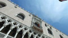 Palazzo Ducale in Venice at sunrise Stock Footage