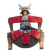 The samurai statue Kuvituskuvat