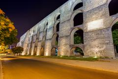 Old aqueduct - Elvas Portugal Stock Photos