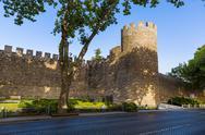 Fortress - Evora Portugal Stock Photos