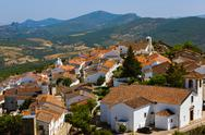 Village Marvao - Portugal Stock Photos