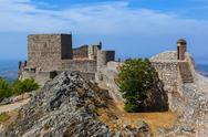Fortress in village Marvao - Portugal Stock Photos