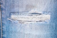 Fashion jeans trousers textile Stock Photos