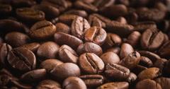 Roasting Coffee Beans Stock Footage