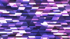 Broadcast Twinkling Diamond Hi-Tech Small Bars, Purple, Abstract, Loopable, 4K Stock Footage