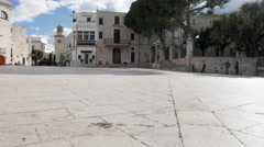South Italy square Stock Footage