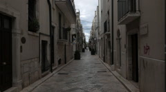 South Italy old town alley Stock Footage