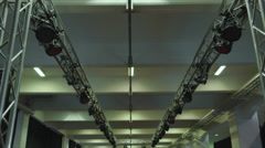 Turning on the stagelights, 4K Stock Footage