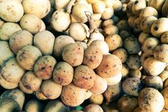 Lansium parasiticum (Long Kong) Stock Photos