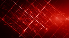 Background line with light Red LOOP Stock Footage