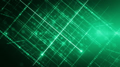 Background line with light green LOOP Stock Footage