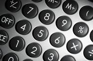 Numerical pad detail Stock Photos