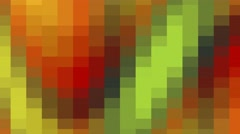 Animated circular screen saver Stock Footage