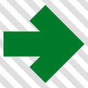 Arrow Right Vector Icon Stock Illustration