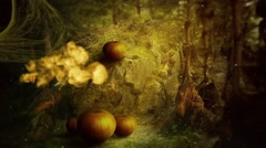 Happy Halloween spooky night card , Halloween party Stock Footage