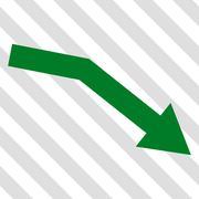 Fail Trend Vector Icon Stock Illustration