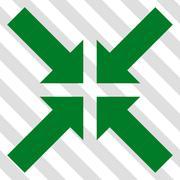Pressure Arrows Vector Icon Stock Illustration